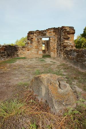 Ruins at Mission Espada, San Antonio, TX. © 2013 Kenneth R. Sheide