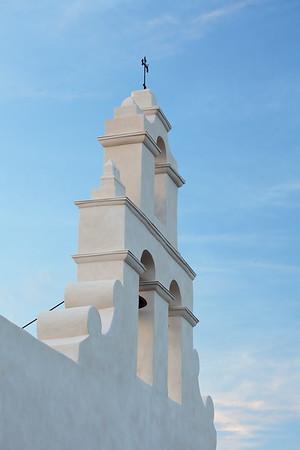 Bell tower of Mission San Juan, San Antonio, TX. © 2013 Kenneth R. Sheide
