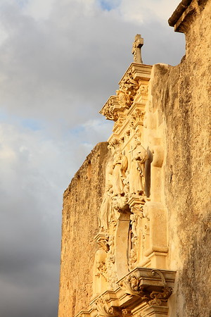 Front of Mission San Jose, San Antonio, TX. © 2013 Kenneth R. Sheide