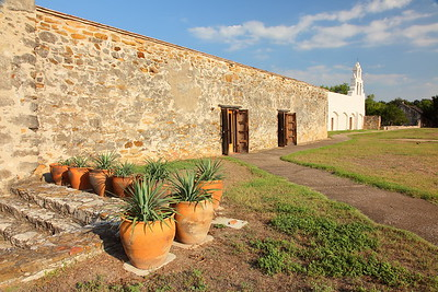 Courtyard of Mission San Juan, San Antonio, TX. © 2013 Kenneth R. Sheide