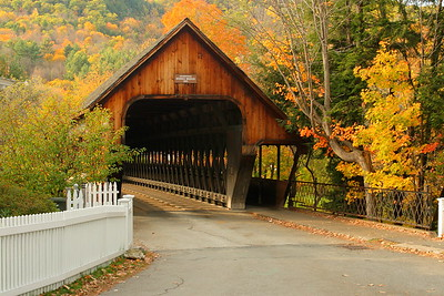 The Middle Covered Bridge of Woodstock, VT. © 2007 Kenneth R. Sheide