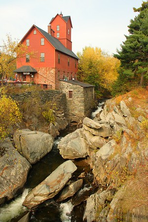 The Old Red Mill in Jericho, VT. © 2007 Kenneth R. Sheide