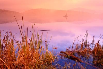 Morning at Kent Pond near Killington, VT. © 2007 Kenneth R. Sheide