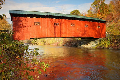 The Arlington Covered Bridge in West Arlington, VT. © 2007 Kenneth R. Sheide