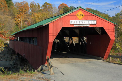 The Taftsville Covered Bridge, built in 1836, in Taftsville, VT. © 2007 Kenneth R. Sheide