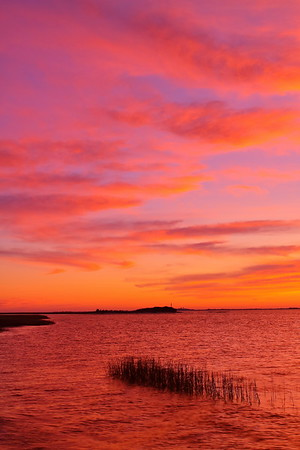 Cape Charles Lighthouse, VA at dawn. © 2011 Kenneth R. Sheide
