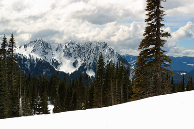 Winter scene at Mount Rainier National Park, WA. © 2006 Kenneth R. Sheide