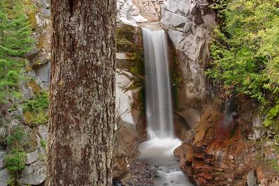 Christine Falls at Mount Rainier National Park, WA. © 2005 Kenneth R. Sheide