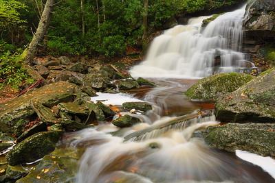 Elakala Falls #2, Blackwater Falls State Park, WV. © 2018 Kenneth R. Sheide