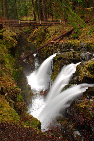 Sol Duc Falls, Olympic National Park, WA. © 2006 Kenneth R. Sheide