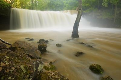 Brush Creek Falls, WV. © 2017 Kenneth R. Sheide