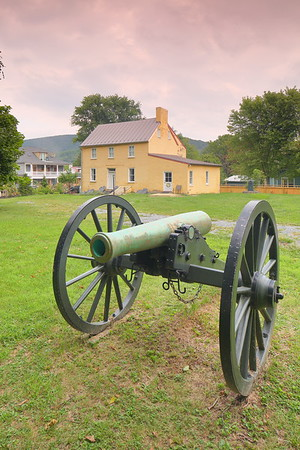Canon at Harper's Ferry, WV. © 2019 Kenneth R. Sheide