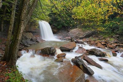 Douglas Falls near Davis, WV. © 2018 Kenneth R. Sheide