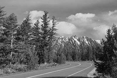 Road through Grand Teton National Park, WY. © 2013 Kenneth R. Sheide