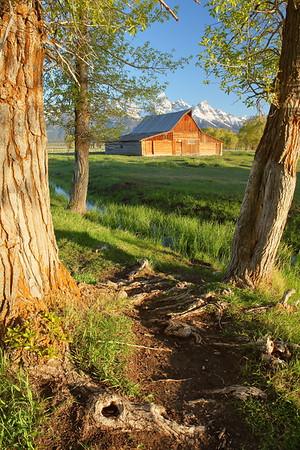 Moulton Barn, Grand Teton National Park, WY. © 2013 Kenneth R. Sheide
