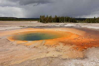 Turquoise Pool, Yellowstone National Park, WY. © 2013 Kenneth R. Sheide