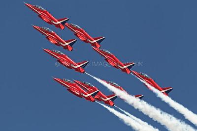 The Red Arrows Aerobatic Team