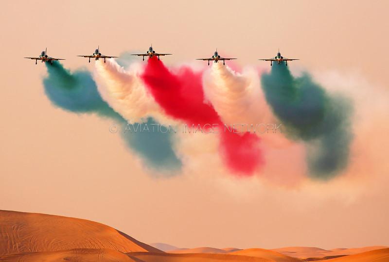 The Saudi Hawks Aerobatic Team