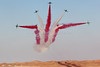The Saudi Hawks Aerobatic Team