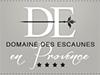 Logo domaine des escaunes  - reference photographe professionnel Montpellier