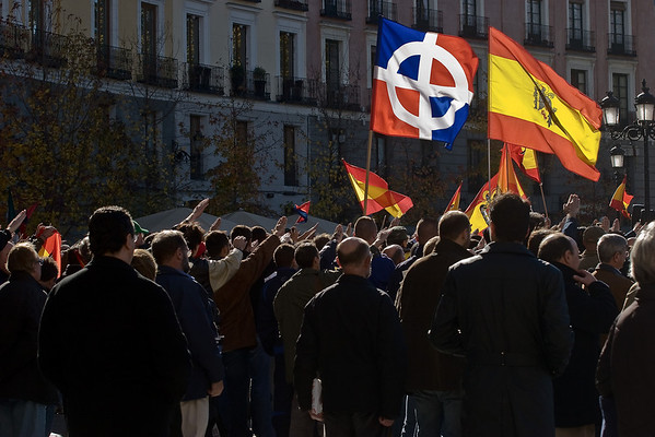 Fascists in Madrid