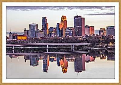 Minneapolis Skyine - Minneapolis MN