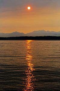 Alki Sunset 8/1/10