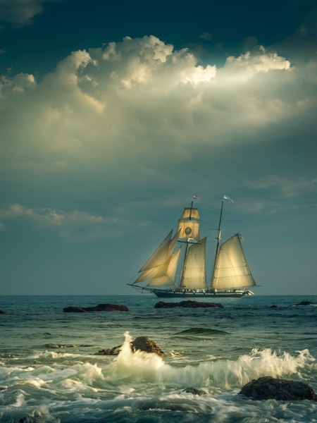 An Evening Sail