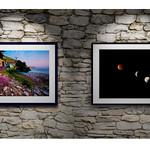 Springtime Dawn and Lunar Eclipse