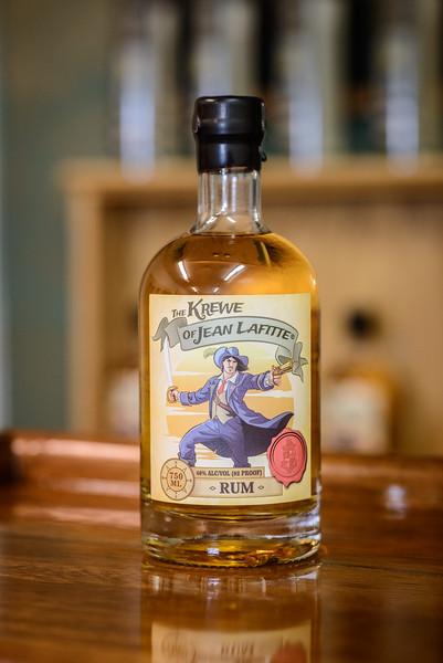 Rollins Distillery Krew od Jean Lafitte Golden Rum