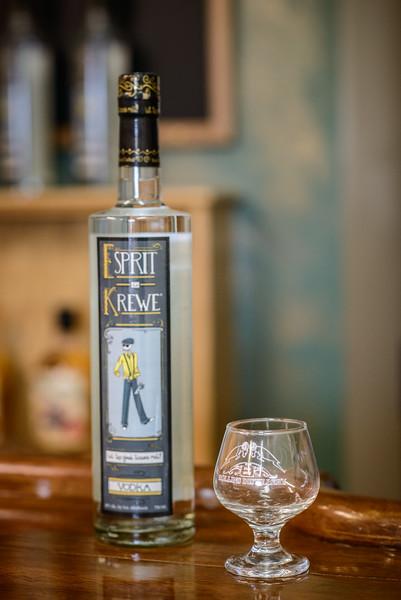 Rollins Distillery Esprit de Krewe Vodka