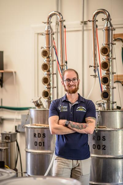 Rollins Distillery Stills