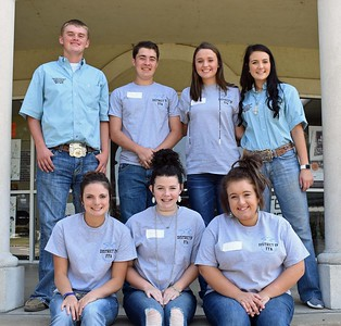 District 4 FFA Officer Camp