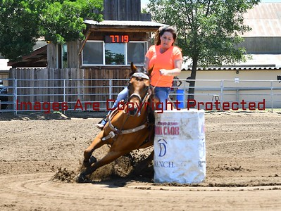 District 8 Barrel Race At Rafter D Ranch  6/25/17