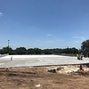 New band pad at McNeil High School. Concrete work complete. (July 12, 2018)