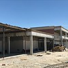 Demolition for new front facade and administration wing at McNeil High School. (July 12, 2018)