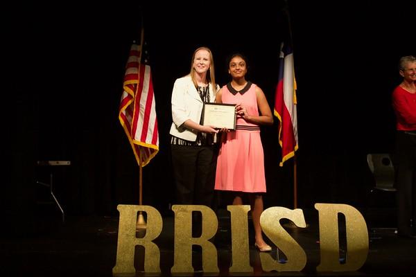 2017 Westwood/Grisham/Canyon Vista Student Leadership Awards