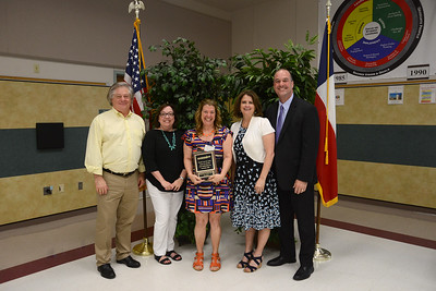 """Dianna Anderson, Running Brush Middle School Dyslexia teacher, 35 years in education and 23 years in LISD  Memorable moment: """"I will remember all of the children that I have helped over the years to become better readers"""""""