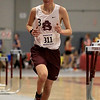 The Division 2 forty first annual Gerry Frew District E Indoor Invitational Track Meet was held at Fitchburg High School on  Saturday, February 9, 2019. Ayer Shirley Regional High School's William Schilp competes in the two mile during the meet. SENTINEL & ENTERPRISE/JOHN LOVE