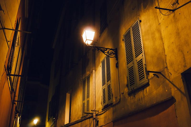 Nice at night