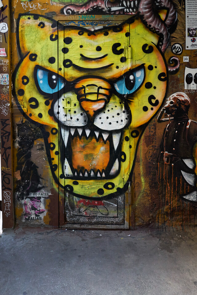 Streetart - Hackische Höfe