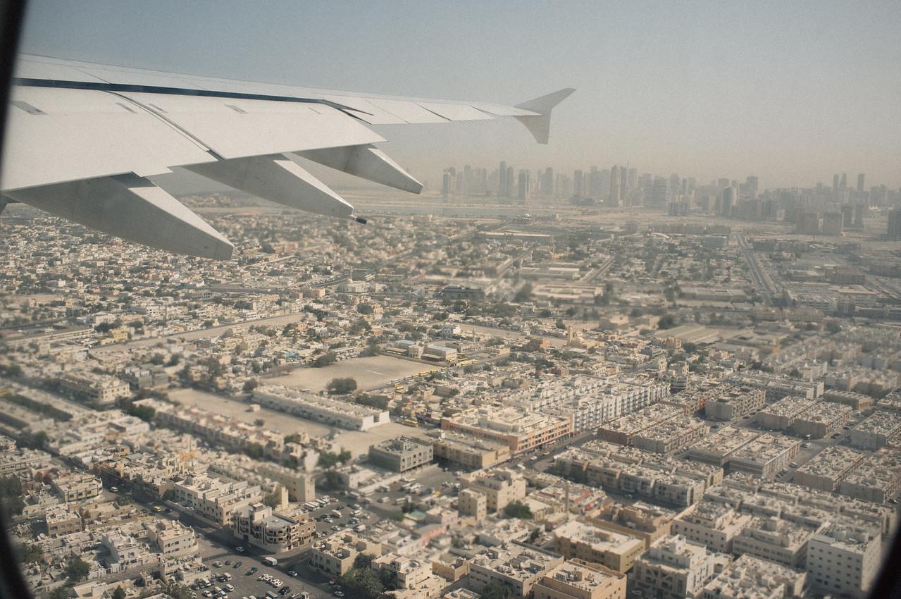 A380 Dubai - Paris