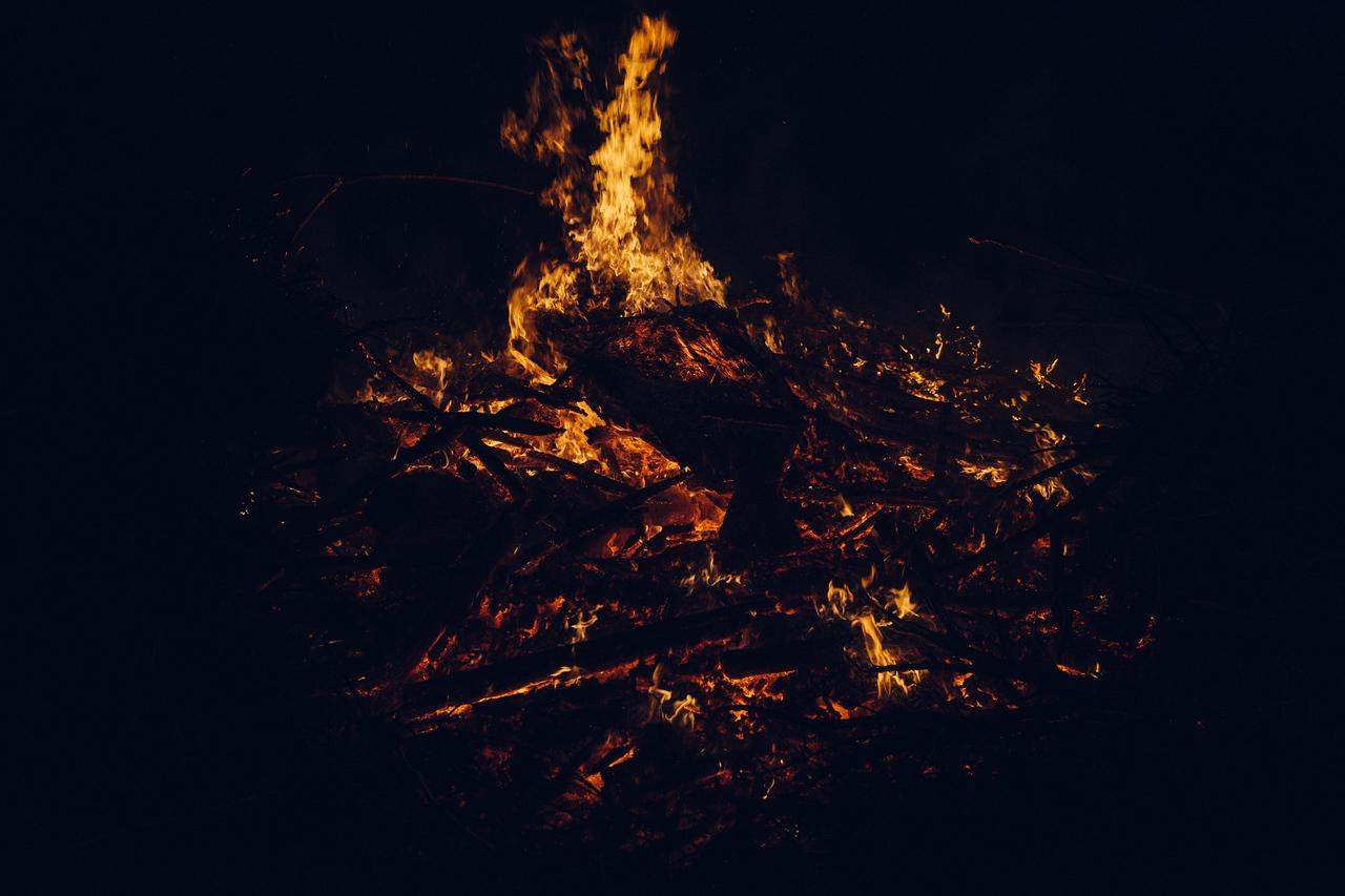 and it burns burns burns