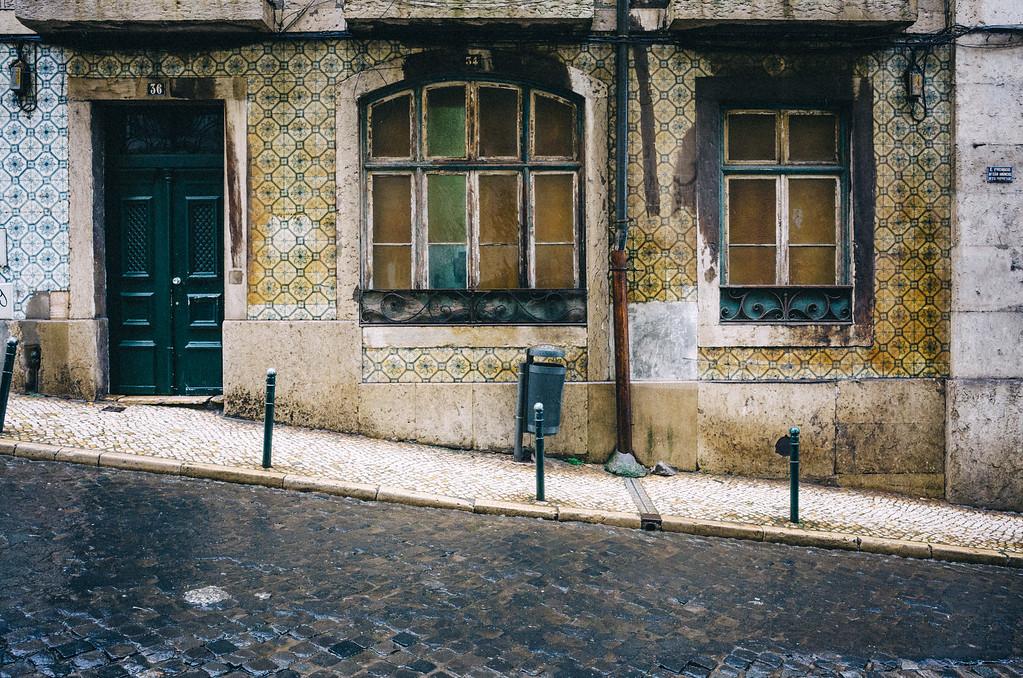 Rainy Lisbon