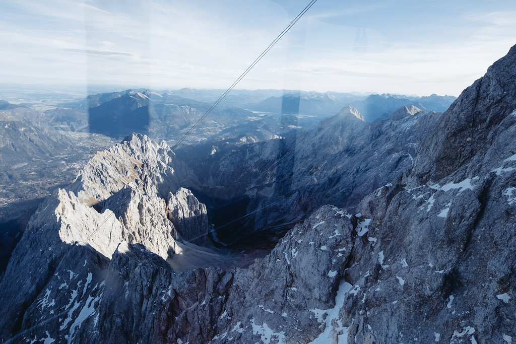 Eibsee Cable Car view