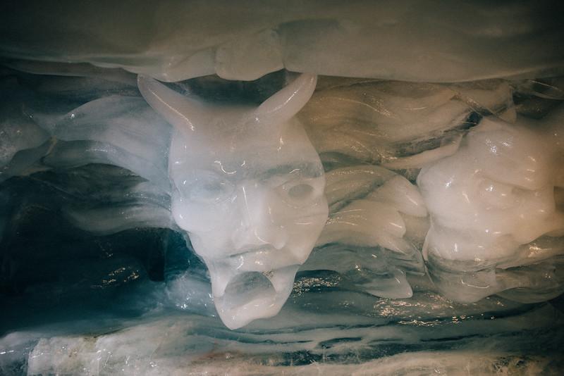 glacier face