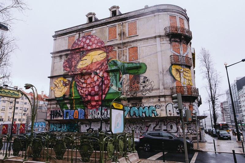 Os Gemeos Lisbon