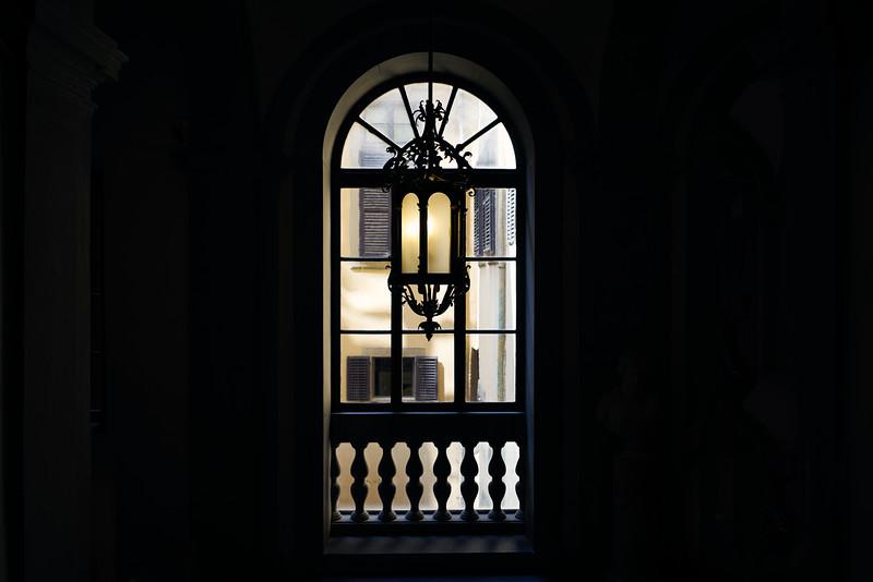 Inside Palazzo Pitti