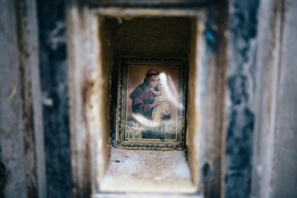 image of saints