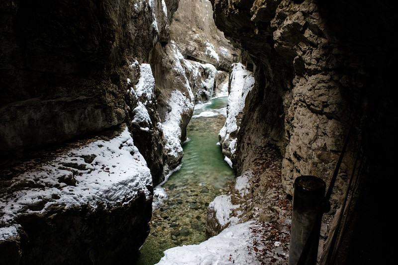 inside the partnachklamm